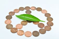 Free Penny Peace Royalty Free Stock Photography - 13949947