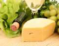 Free Wine And Cheese Stock Photography - 13950282