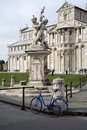 Free Pisa - Statue Of Angles And Cathedral Royalty Free Stock Photography - 13953437