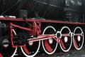 Free Vintage Steam Train Wheels Royalty Free Stock Photos - 13956508