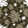 Free Vector Seamless Vintage Floral Pattern Stock Photo - 13957930