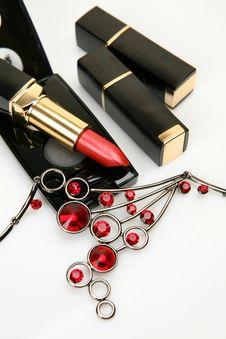 Free Decorative Cosmetics Royalty Free Stock Photo - 13950255