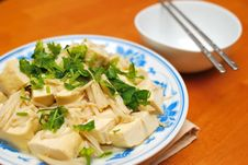 Free Chinese Vegetarian Bean Curd Cuisine Stock Image - 13950301