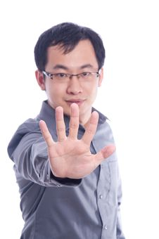 Free Young Asian Male Model Stock Photography - 13950462