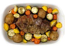 Free Lamb Roast Stock Photography - 13950842