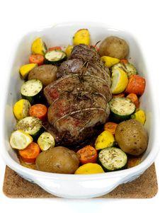 Free Lamb Roast Stock Images - 13950844