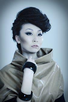 Free Fashionable Asian Royalty Free Stock Photo - 13950905