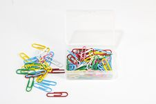 Free A Box Of Clips Stock Images - 13951324