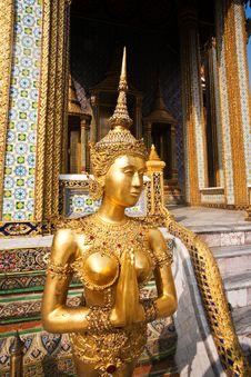 Free Kinaree, A Mythology Figure In The Grand Palace Stock Image - 13951341