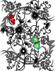 Free Big Floral Collection Stock Photography - 13951862