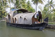 Free Converted Rice Barge Royalty Free Stock Photo - 13952455