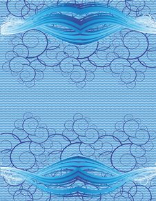 Free Blue Modern Vector Background Stock Image - 13952511