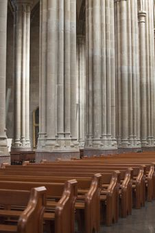 Vitoria S Cathedral Royalty Free Stock Image