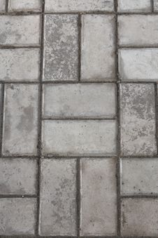 Free Stone Walkway Tiles Stock Photography - 13953692