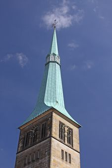 Free Church Spire Royalty Free Stock Photography - 13954027