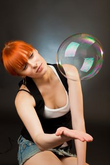 Free Big Bubble Stock Photography - 13954262