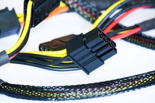 Free Tangled Power Cords Stock Photo - 13954370