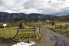 Free Mountain Village Stock Photography - 13954552
