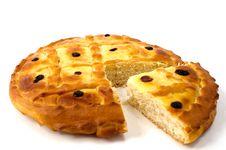 Free Pie With Raisin Stock Image - 13955091