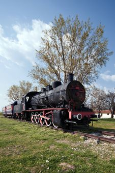 Free Train And Steam Locomotive Royalty Free Stock Photos - 13955798