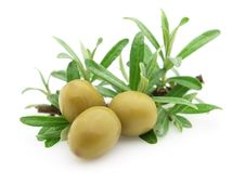 Free Green Olives Royalty Free Stock Photos - 13955828