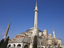 Free Hagia Sophia In Istanbul Stock Photography - 13956032