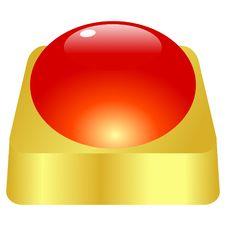 Free Golden Button Stock Photos - 13956223