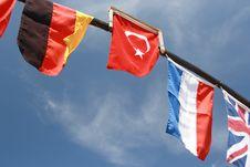 Free International Flags. Stock Image - 13956371