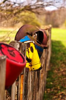 Free Fence Royalty Free Stock Photo - 13957105