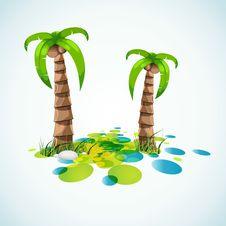 Free Summer Vacation Stylish Background Royalty Free Stock Image - 13957366