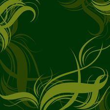 Background With Twirl  Pattern Stock Photography