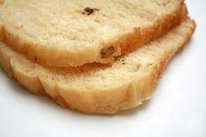 Breads On White Stock Photos