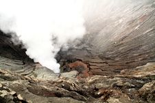 Free Mount Bromo Crater Stock Photography - 13958022