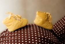 Free Baby Shoes Stock Photo - 13958090
