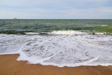Free Wave , Sea Beach And Sky Stock Image - 13958841