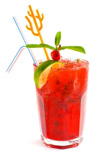 Free Strawberry Cocktail Stock Images - 13959184