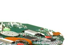 Free Disk Playing Circuit Board Royalty Free Stock Photos - 13959538