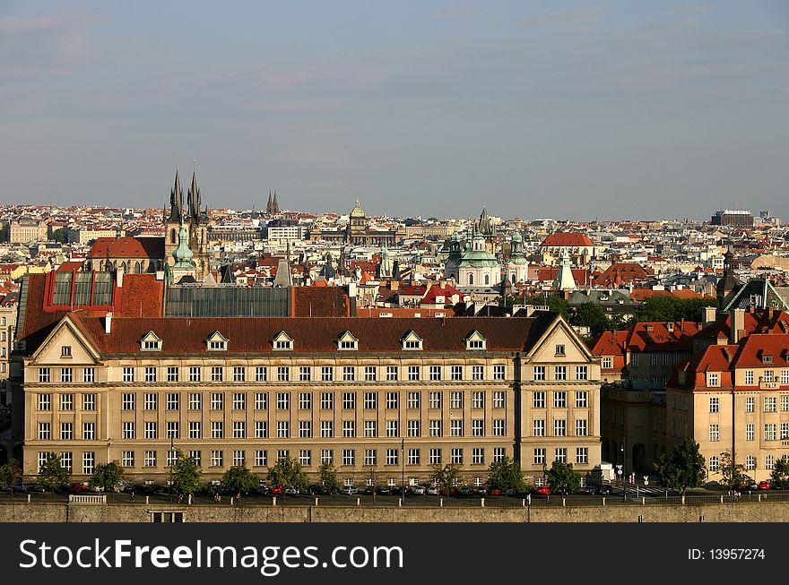 Prague s street