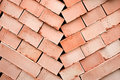 Free Background Of Many Red Bricks For Cinstruction Stock Photo - 13960520