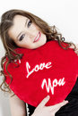 Free Woman With Heart Stock Photo - 13968840