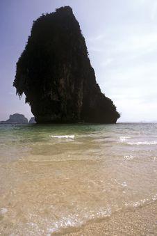 Rock, Thailand Stock Photo