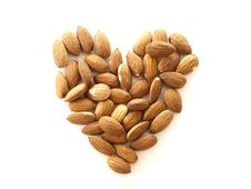 Free Almond Heart Royalty Free Stock Photos - 13960448