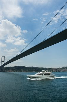 Free Bosphorus Bridge Royalty Free Stock Photo - 13960465
