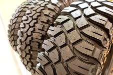 Free Backgorund Of Many Black Rubber Tyres Royalty Free Stock Images - 13960549