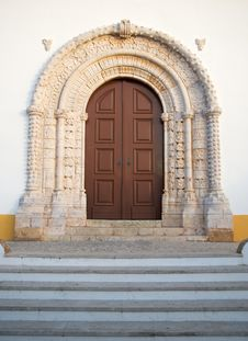 Free Church Front Entrance Stock Photo - 13960700