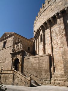 Free Avila Cathedral, Spain Stock Photo - 13960730