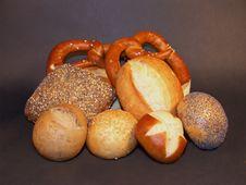 Free Mixed Bread Royalty Free Stock Photography - 13961367
