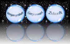 Free German Crystal Balls Royalty Free Stock Photography - 13961827