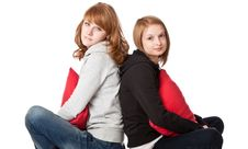 Free Two Smiling Girl Royalty Free Stock Photography - 13963447
