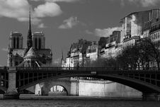 Free Notre Dame Cathedral , Paris Stock Images - 13963574